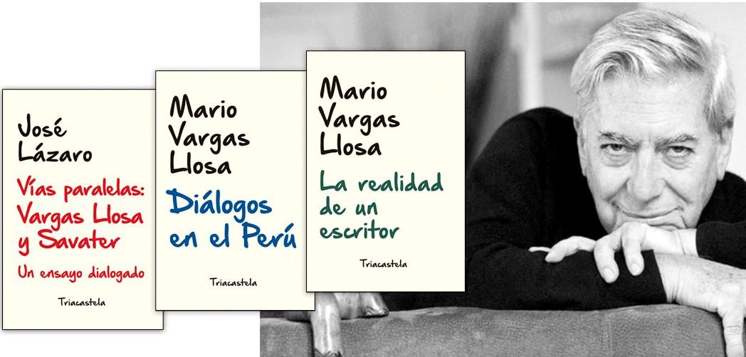 Se publican las «Sobras Completas» de Mario Vargas Llosa: Dos libros inéditos y un ensayo dialogado con Savater