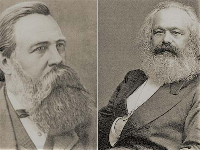 Engels y Marx