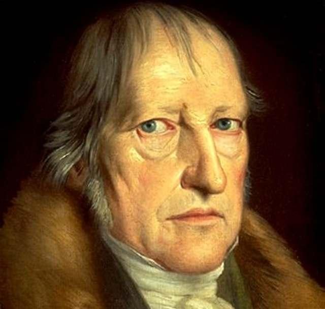 'Ser es pensar'. El idealismo filosófico es esencialmente, Hegel