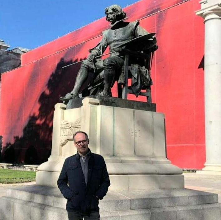 Santiago Manzarbeitia: 'Creo que el Museo del Prado es, en su calidad de pinacoteca, la mejor del mundo'