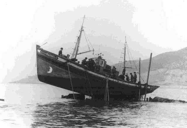 El reposo de la fragata Numancia