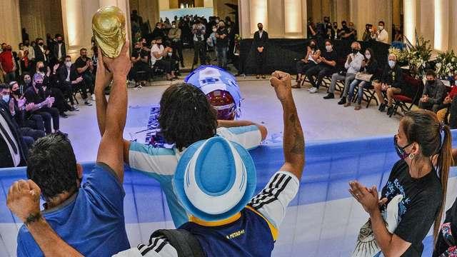 Maradona y la pandemia