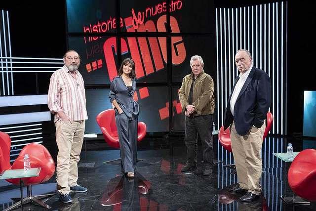 Nuestro crítico de cine, Eugenio Rivera,en 'Historia de nuestro cine' de La 2 de RTVE
