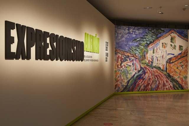 Expresionismo alemán en la colección del barón Thyssen-Bornemisza, arte en los tiempos del coronavirus