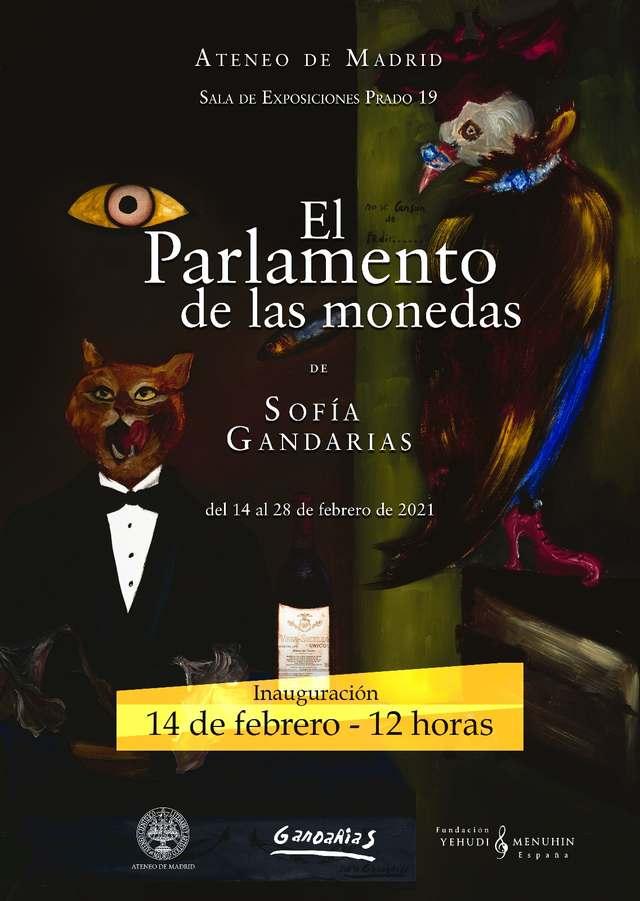 'El parlamento de las monedas'. Exposición de Sofía Gandarias en el Ateneo de Madrid