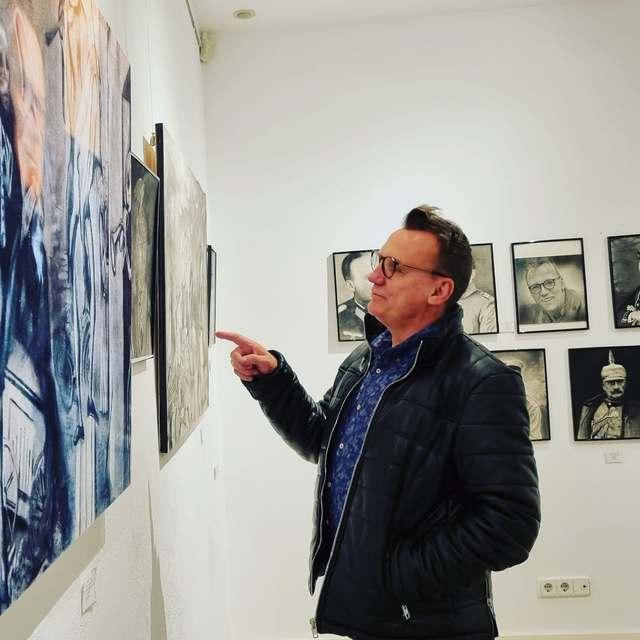 Wilko von Prittwitz: 'El motor de mi vida es la pintura'