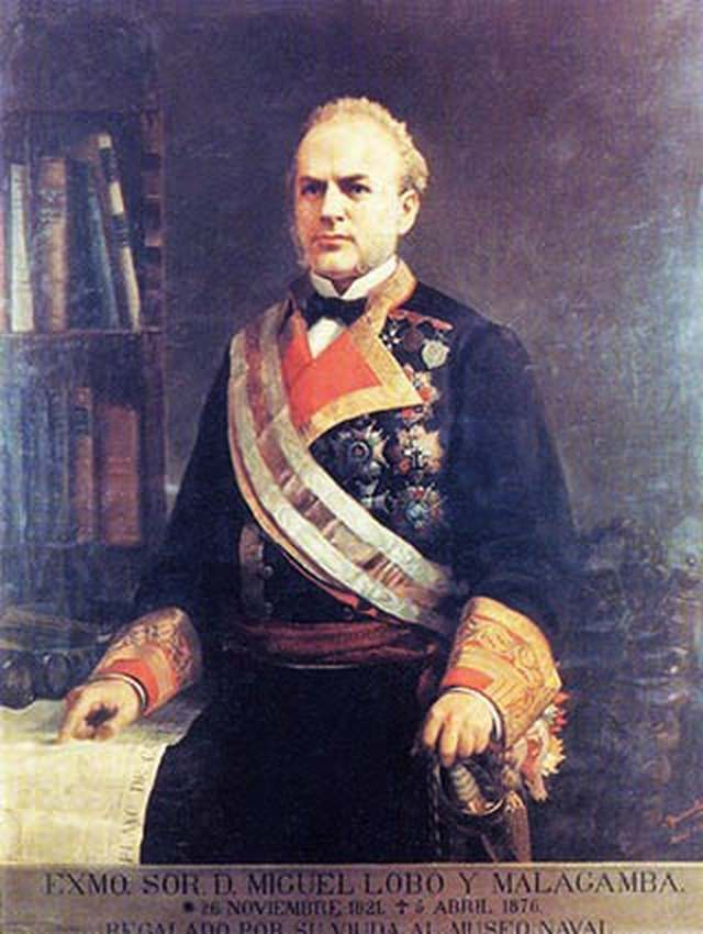 Un almirante ateneísta: D. Miguel Lobo