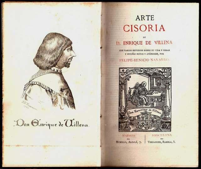 'Arte Cisoria' de Enrique de Aragón