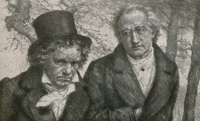 El encuentro de Beethoven y Goethe