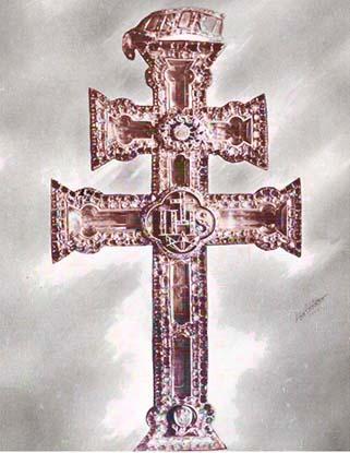 El  misterio del robo de la Cruz de Caravaca