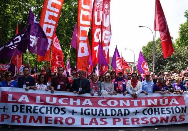Manifiesto unitario del Mundo del Trabajo de la Comunidad de Madrid por el voto a la izquierda