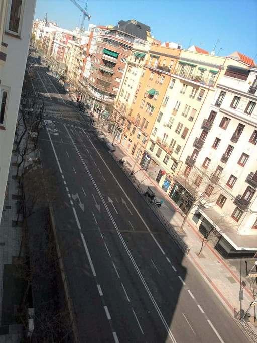 Calle Narvaez en Madrid
