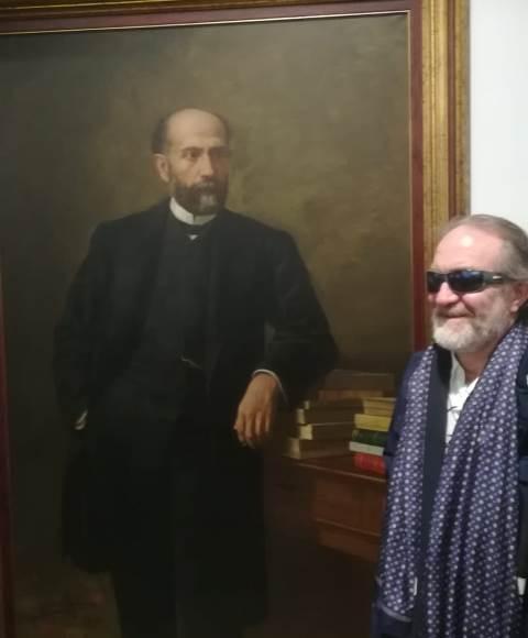 Forte con un retrato de Nicolás Salmerón