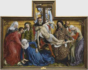 EL Descendimiento de Weyden