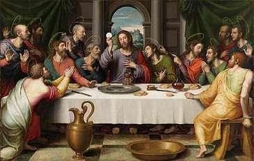 ltima Cena de Juan de Juanes
