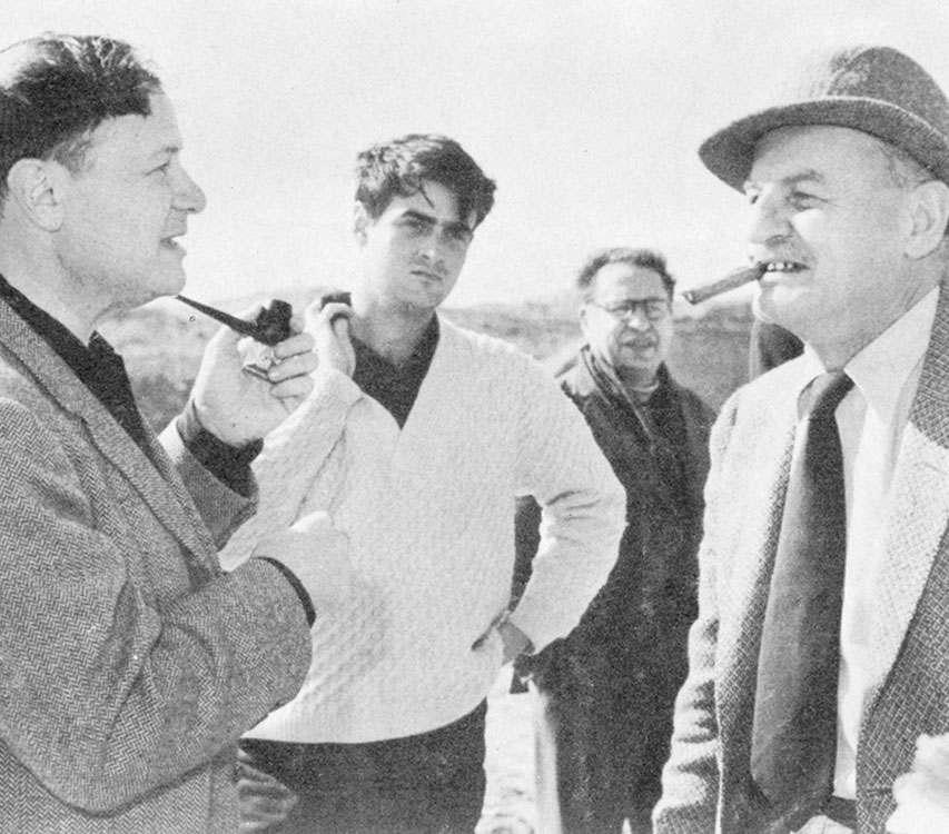 Aute con Mankiewicz