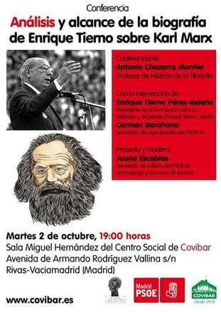 Tierno Galván y Marx