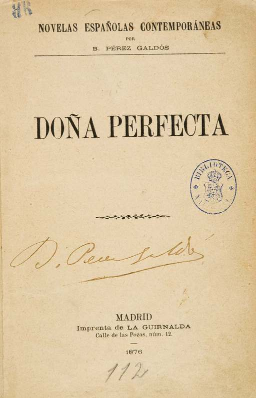 Doña Perfecta 1876