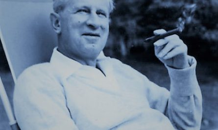 Herbert Marcuse in Newton Massachusetts 1955