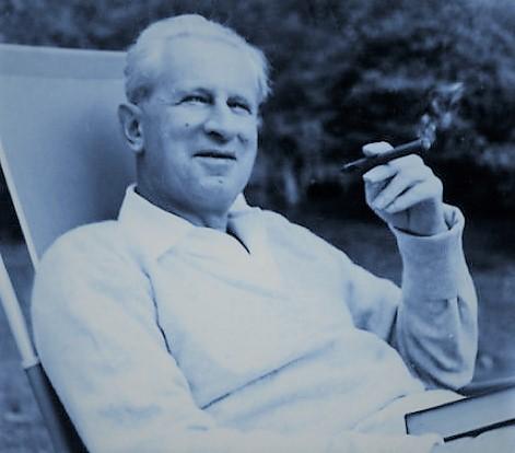 Herbert Marcuse in Newton Massachusetts 1955