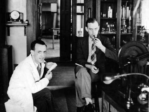 Rafael-Mendez-con-Gordon-Moe-en-Harvard 1943