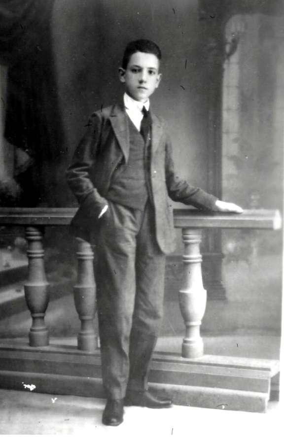Rafael Mendez con 15 años
