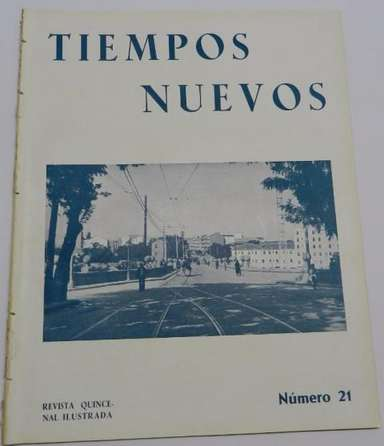 Revista Tiempos Nuevos dirigida por Saborir Febrero 1935