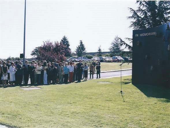 Inauguracion memorial CNI