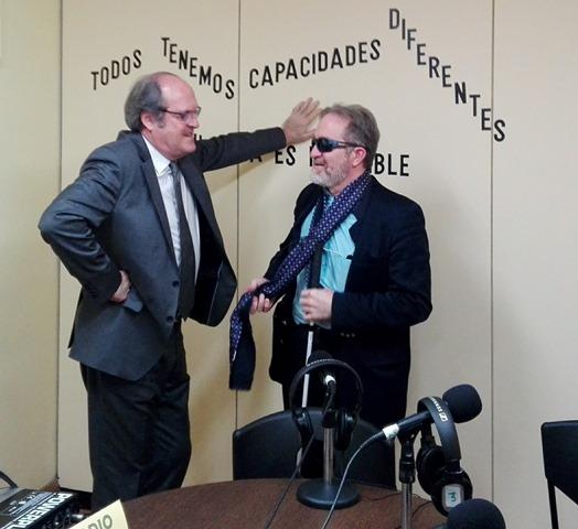Foto de Francisco Forte con Angel Gabilondo