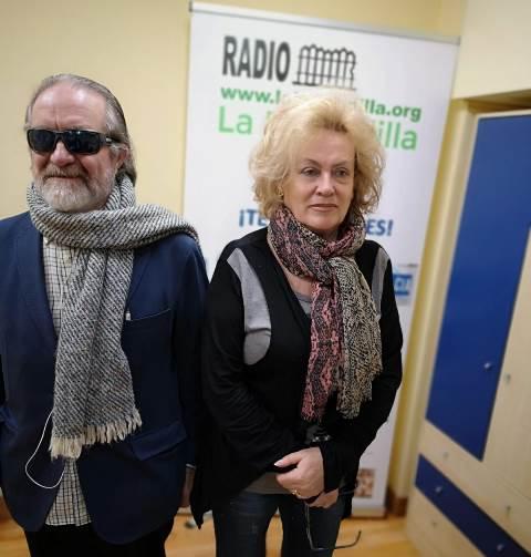 Foto de Francisco Forte con Mayte Pedraza