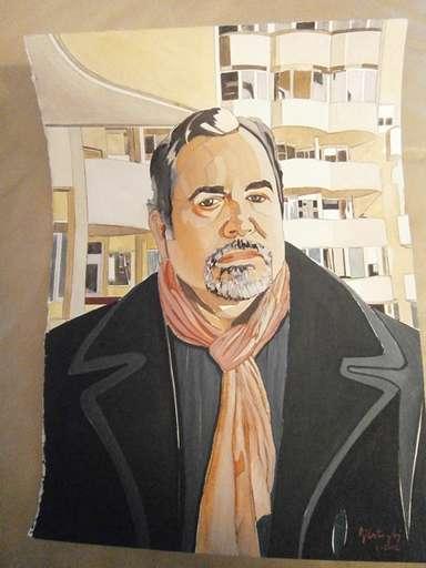retrato de A.Lazaro
