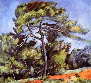El gran pino Cezanne 1898