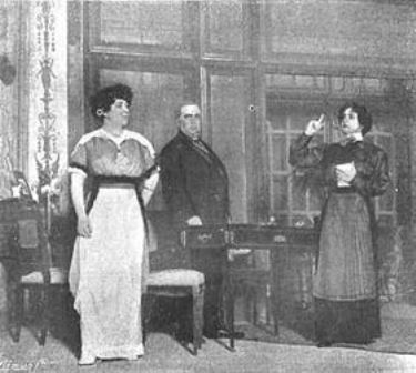 Estreno de Celia en los infiernos en 1913