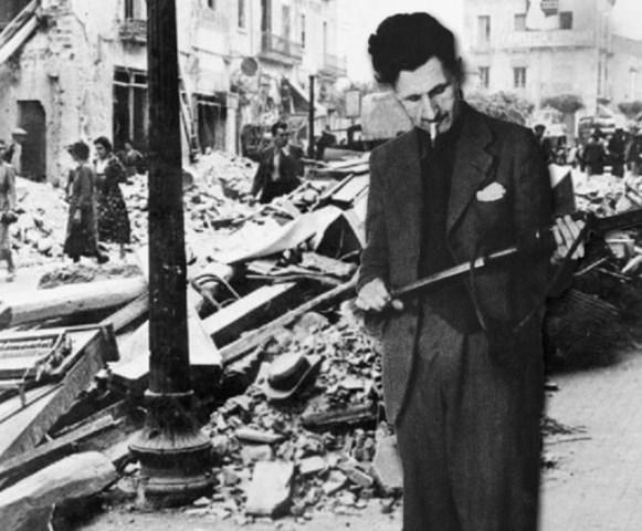Orwell durante la Guerra Civil española