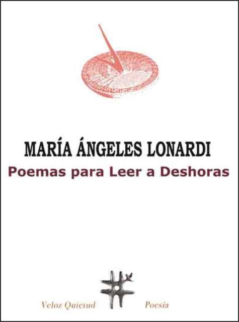 'Poemas para leer a deshoras' de María Ángeles Lonardi
