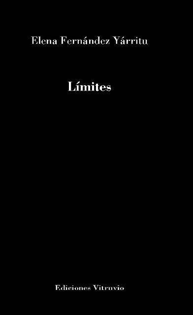 'Límites' de Elena Fernández Yárritu