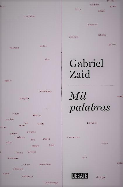 'Mil palabras' de Gabriel Zaid
