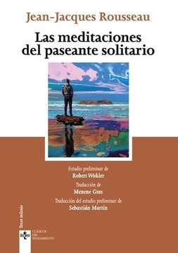 'Las meditaciones del paseante solitario' de Jeann-Jacques Rousseau