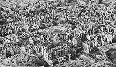 VARSOVIA DESTRUIDA 1945