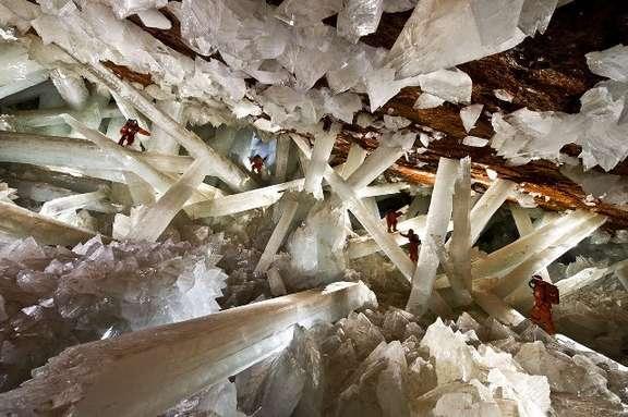 La Cueva de los Cristales de Naica