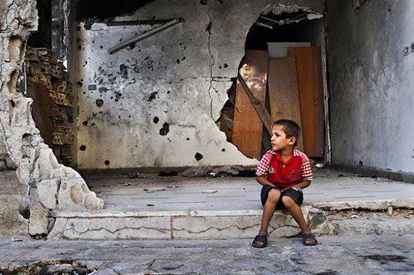 niño guerra