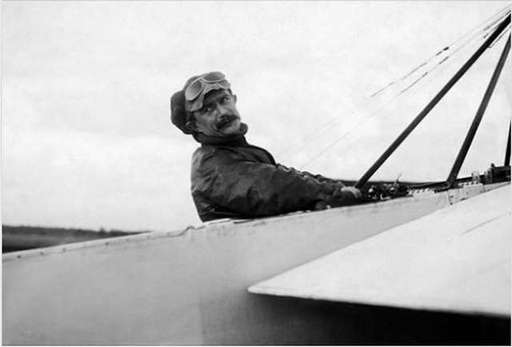 Las intrépidas acrobacias de Julies Vedrines, un pionero de la aviación