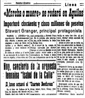 Diario Linea 7 de abril de 1962