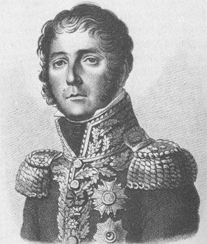 Horace Sebastianini primer mando francés que ataco Murcia