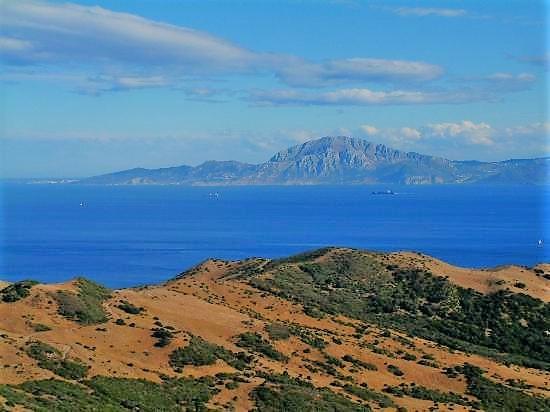 La costa africana desde Tarifa