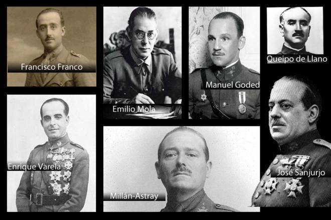 Militares africanistas españoles